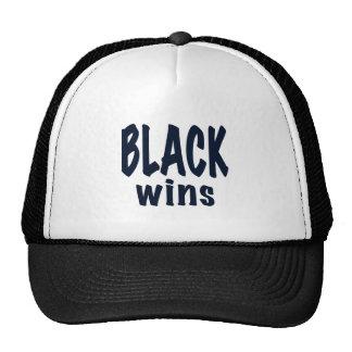Triunfos del negro triunfos de Obama Gorro De Camionero