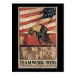 Triunfos del trabajo en equipo postal