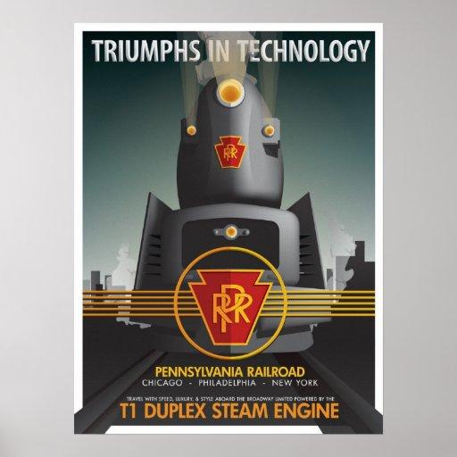 TRIUNFOS EN TECNOLOGÍA: El T1 de Pennsy Poster