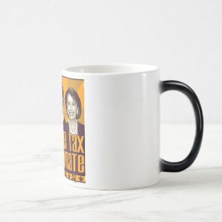 Triunvirato terrible del impuesto taza de café
