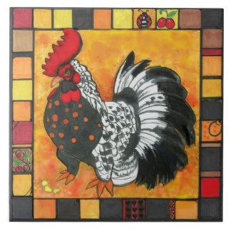 trivet de la teja del gallo