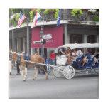 Trivet New Orleans Scene 1 Tile