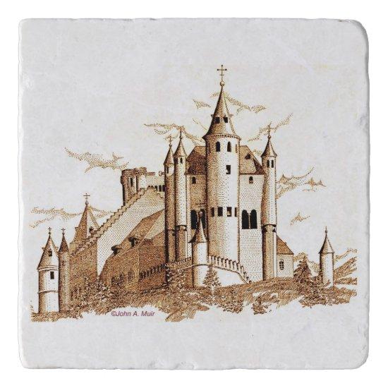 Trivet - Sepia Castle