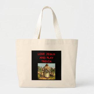 trivia canvas bags