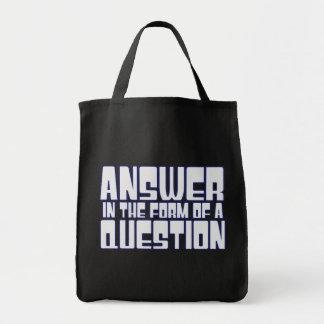 Trivia Fan Canvas Bags