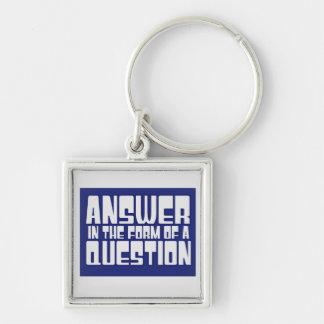 Trivia Geek Keychain