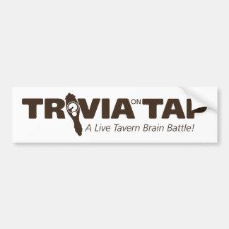 Trivia on Tap, bumper sticker