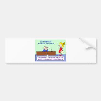 trivial nonsense federal grants bumper sticker