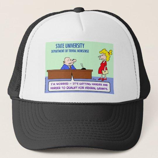 trivial nonsense federal grants trucker hat