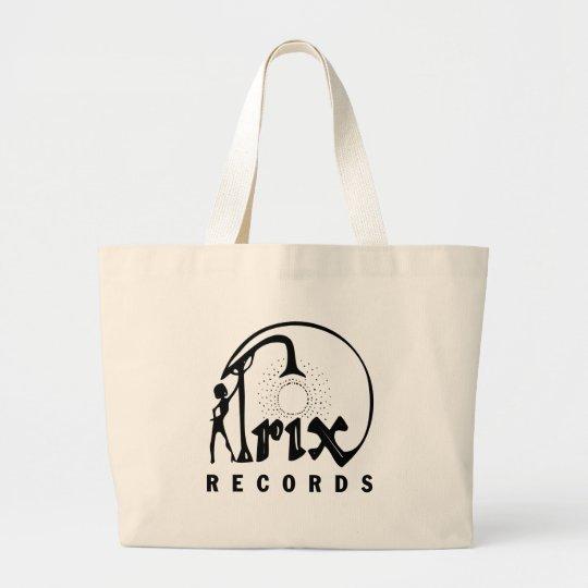 Trix Records Large Tote Bag
