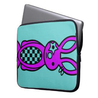 Trixie - Laptop Sleeve (Cyan)