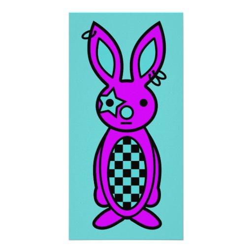 Trixie - tarjeta de la foto (ciánica) tarjeta personal con foto