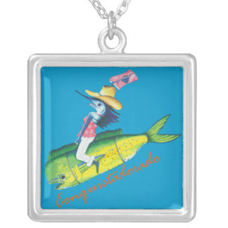 Trixie's Rodeo Silver Plated Necklace