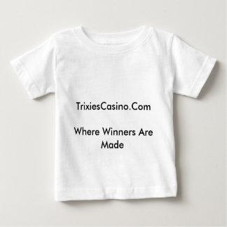 TrixiesCasino Playera De Bebé
