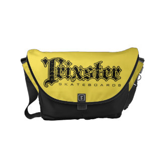 Trixster Skateboards Yellow & Black Messenger Bag
