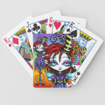 Trixy Pixie Stick Circus Sideshow Playing Cards