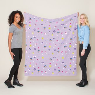 TRK - Purple Pattern Fleece Blanket