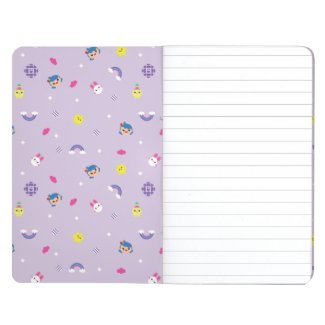 TRK - Purple Pattern Journal