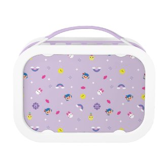 TRK - Purple Pattern Lunch Box
