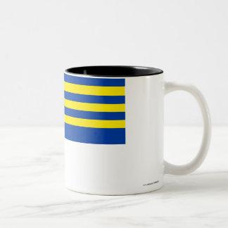 Trnava Flag Two-Tone Coffee Mug