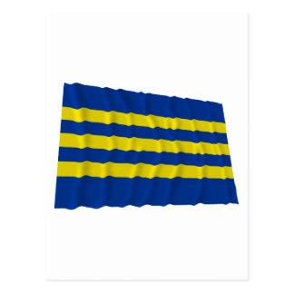 Trnava Waving Flag Postcard