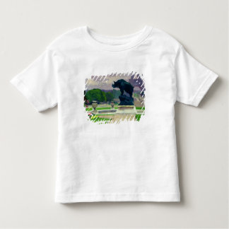 Trocadero Gardens and Rhinoceros by Jacquemart Toddler T-shirt