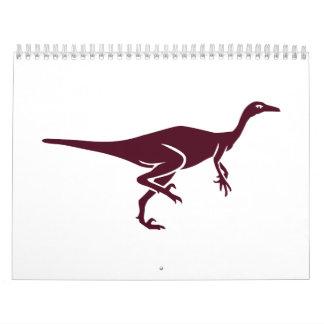 Trodon dinosaur calendar