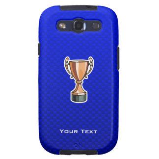 Trofeo; Azul Galaxy SIII Fundas