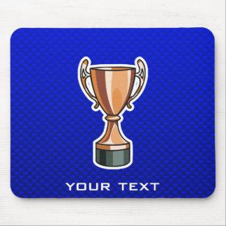 Trofeo; Azul Mousepad
