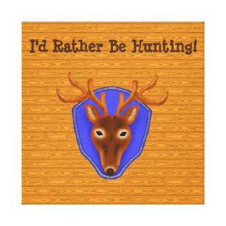 trofeo de la caza de los ciervos del dólar 8-Point Lona Estirada Galerias