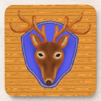 trofeo de la caza de los ciervos del dólar 8-Point Posavasos De Bebida