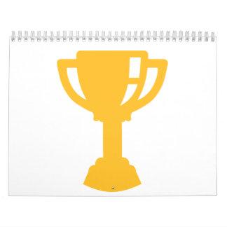 Trofeo de la taza de oro calendarios