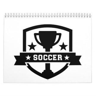 Trofeo del campeón del fútbol calendarios