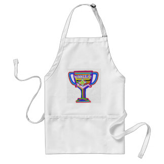Trofeo del ganador Arte de acrílico Delantal