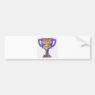 Trofeo del ganador:  Arte de acrílico Pegatina Para Auto