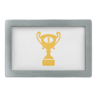 Trofeo del ganador del campeón hebillas de cinturón rectangulares