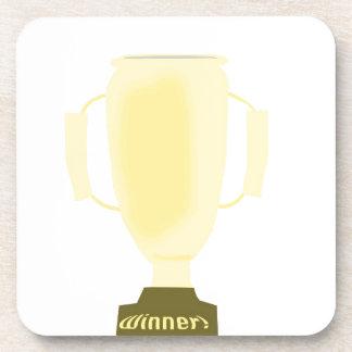 Trofeo del ganador posavasos
