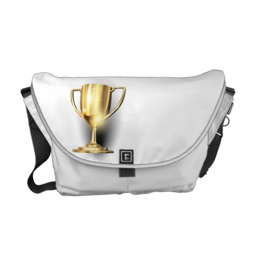Trofeo del oro bolsa de mensajería