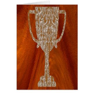 TROFEO del oro: Celebración de la recompensa del p Tarjetón