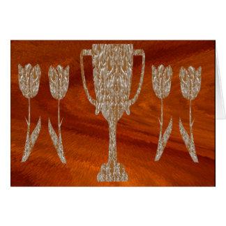 TROFEO del oro: Celebración de la recompensa del p Felicitación