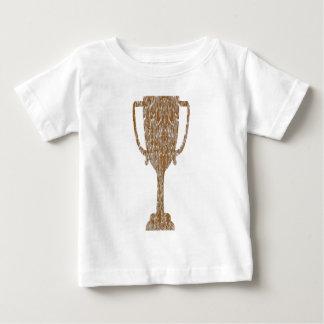 TROFEO del oro: Celebración de la recompensa del Playera De Bebé
