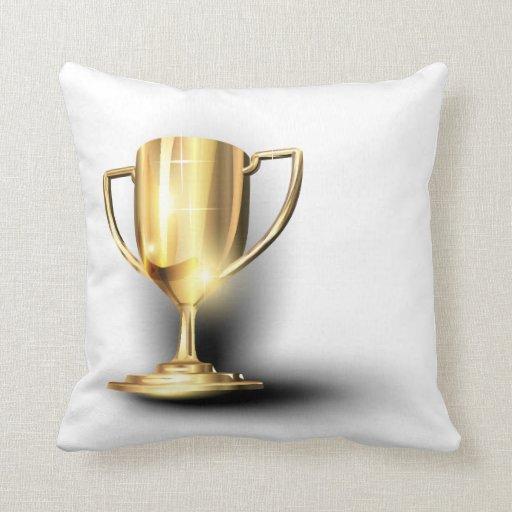 Trofeo del oro cojin