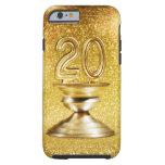 Trofeo del oro funda de iPhone 6 tough