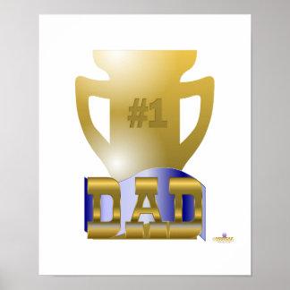 Trofeo del papá 1 impresiones