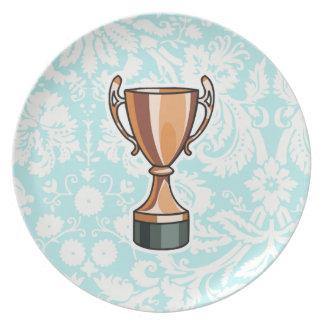 Trofeo; Lindo Platos De Comidas
