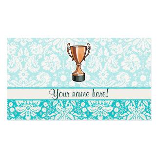 Trofeo; Lindo Tarjetas De Visita