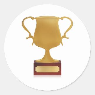 Trofeo Pegatina Redonda