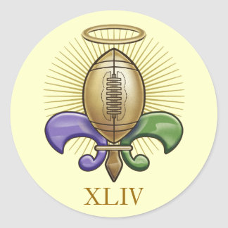 Trofeo santo de NOLA (p) Etiqueta Redonda