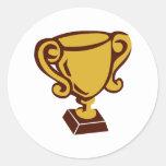 Trofeo - taza pegatinas
