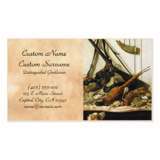 Trofeos de la caza, Claude Monet 1862 Tarjetas De Visita